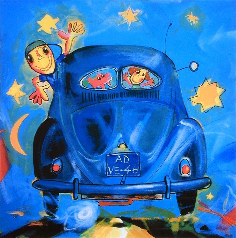 VW Brilletje achterruit