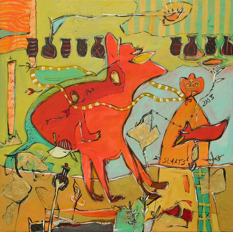 03091 De kat & hond