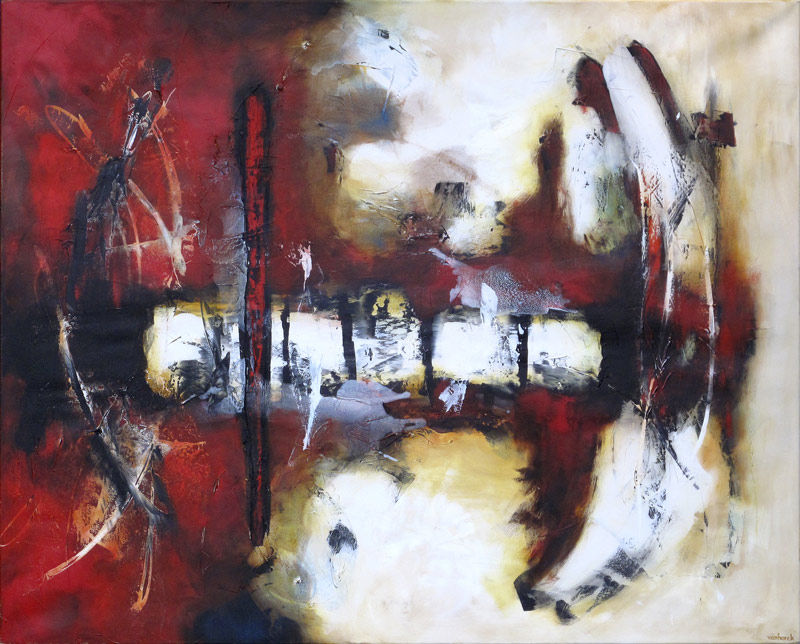 Abstract Painting (Reflexions)