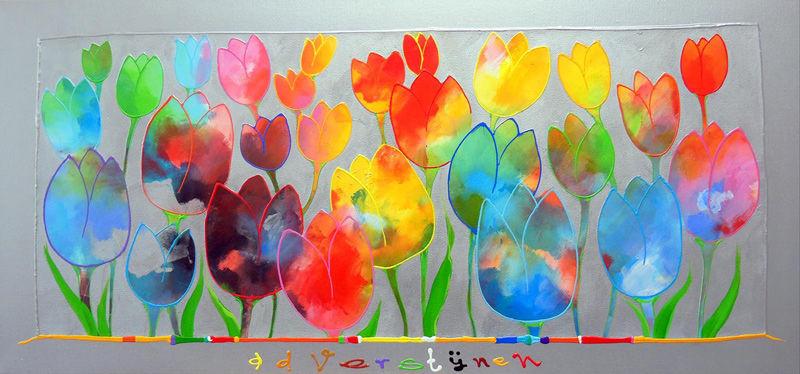 Onbekende tulpen