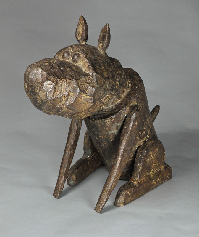 Hond (brons)
