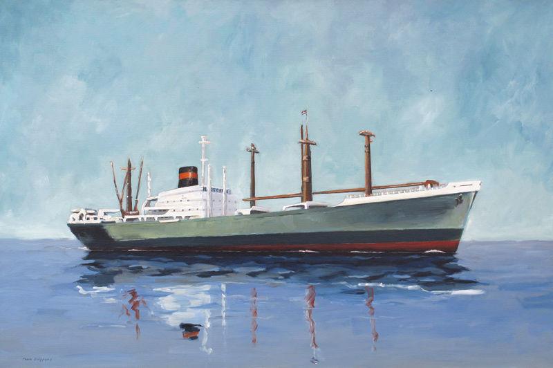 Vrachtschip no. 1