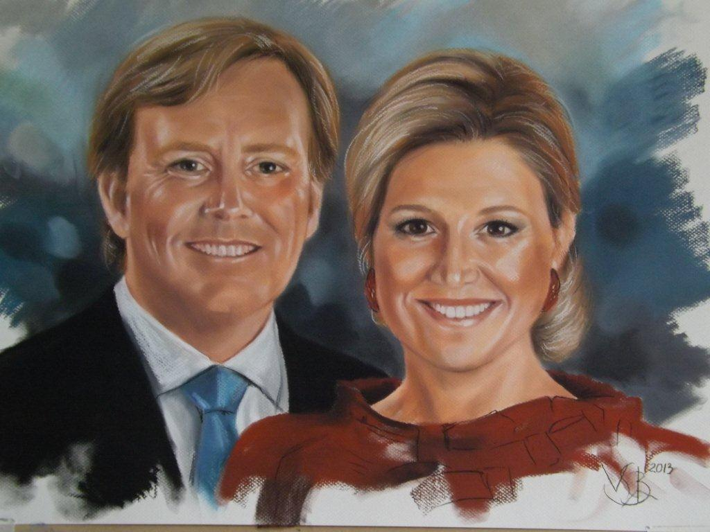 Willem-Alexander en Maxima