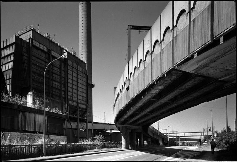 Metro viaduct Dampremy
