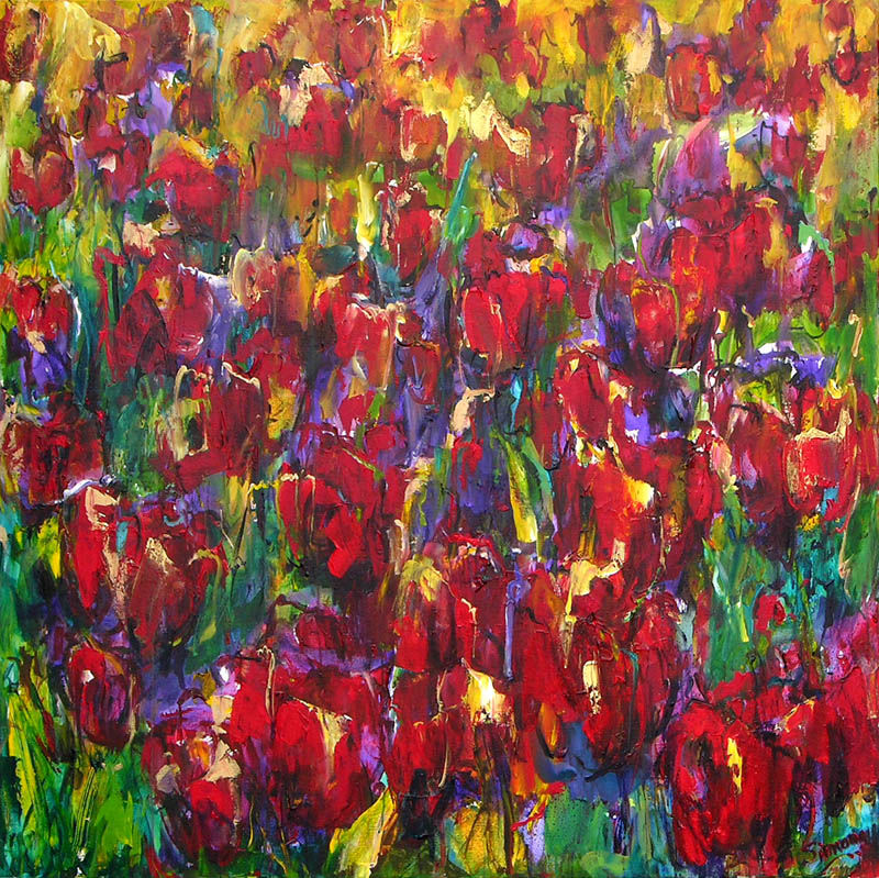 Tulips (red)