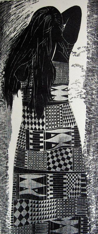 Zwart-wit vrouw II