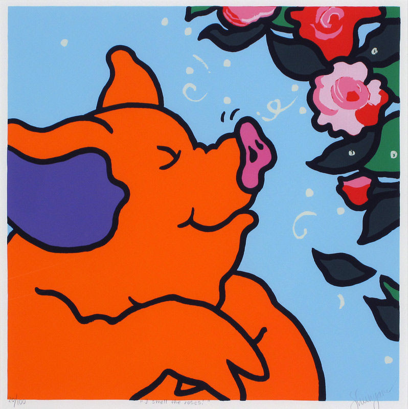I smell the roses!