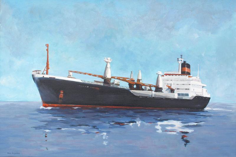 Vrachtschip no. 2
