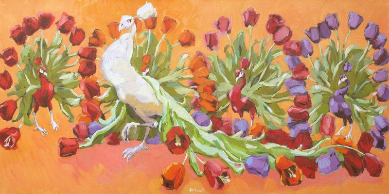 Tulpen pauwen