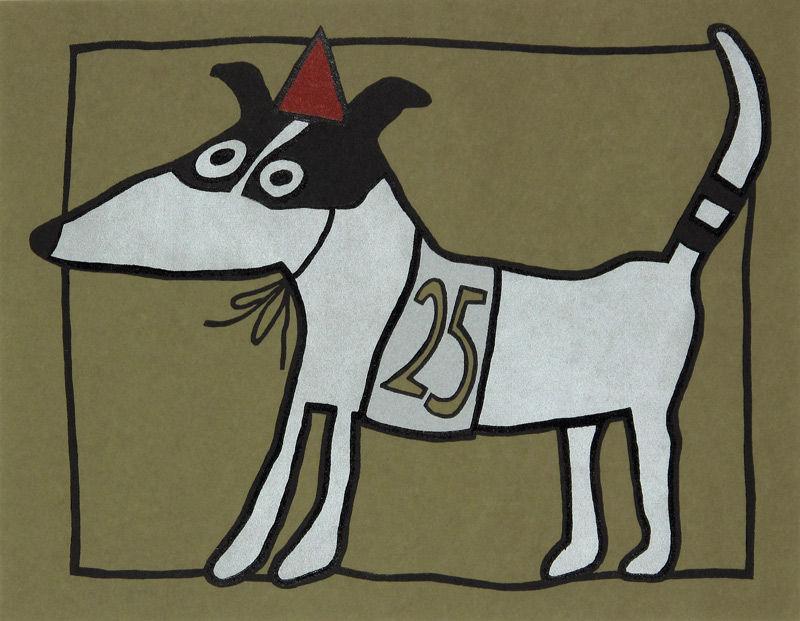 Racehond nummer 25