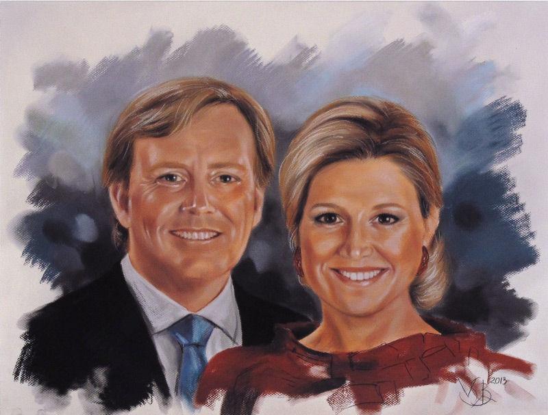 Willem- Alexander en Maxima