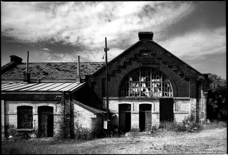 Stationsgebouw Marchienne