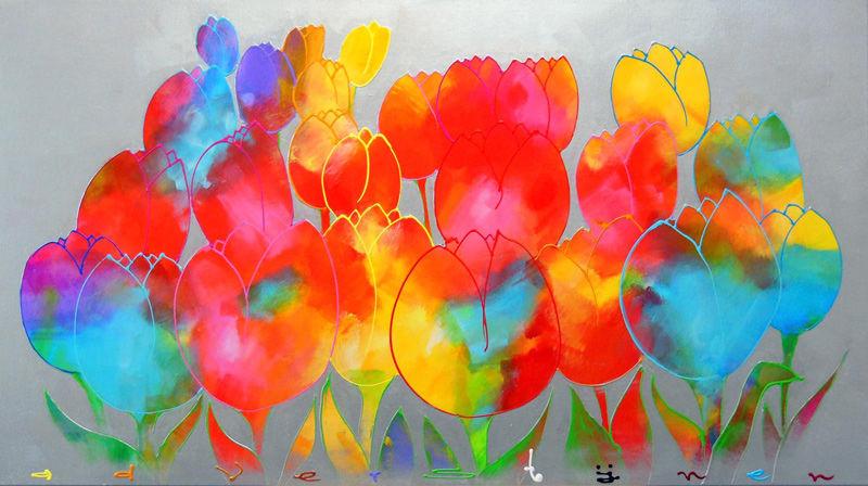 Sprankelende tulpen