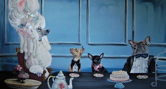 Doggies high tea