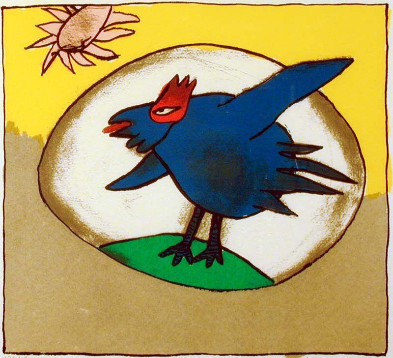 Juichende vogel
