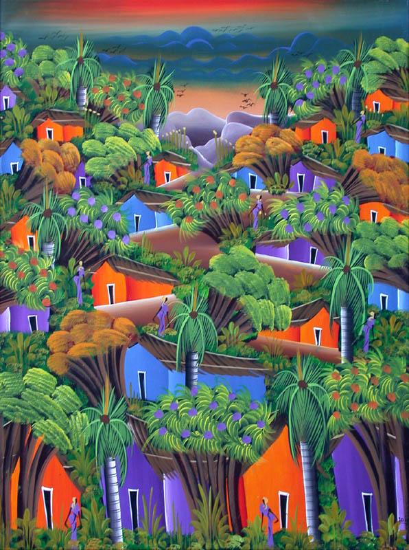 Paysaje dominicano (F. Santos)