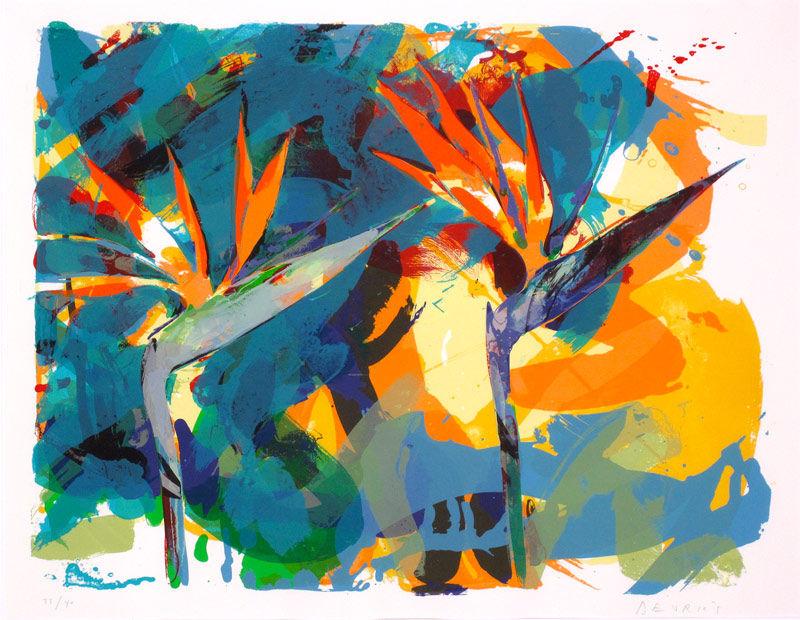 Bird of Paradise (Turquoiset)
