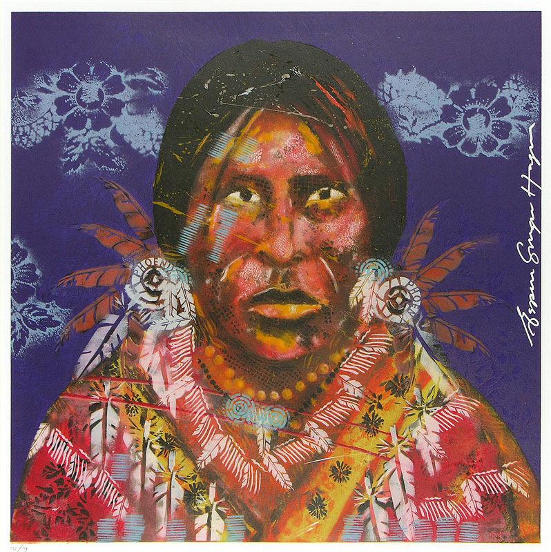 Geronimo (paars)