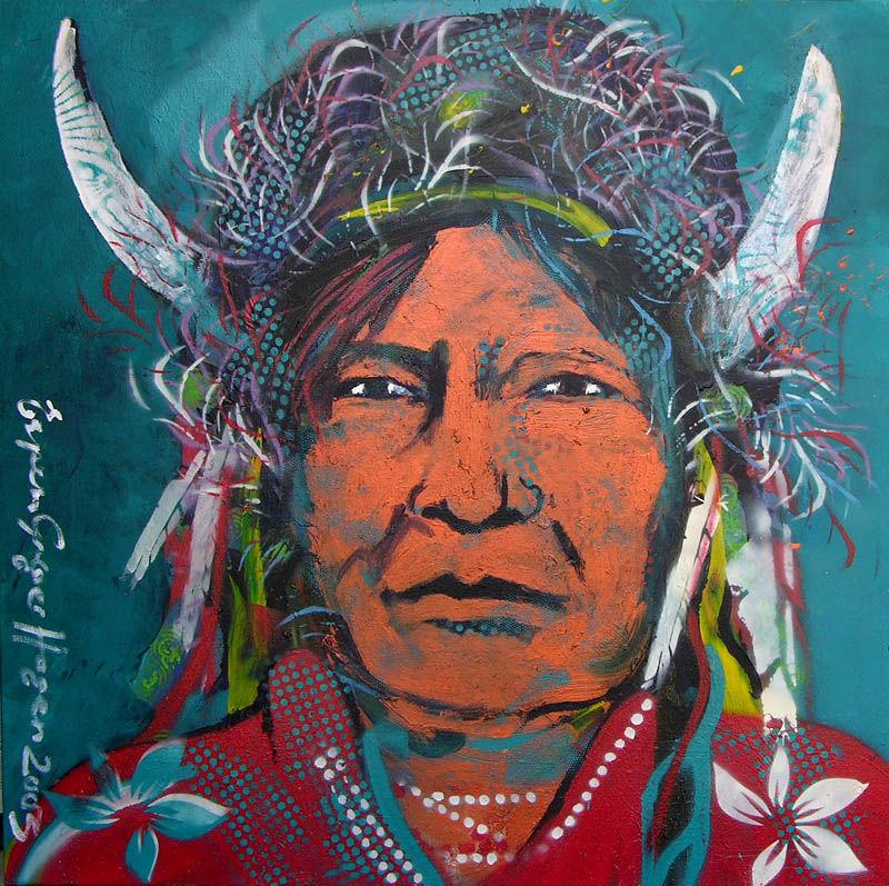 Two Horns Kiowa
