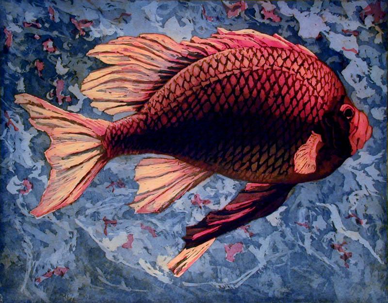 Rode vis