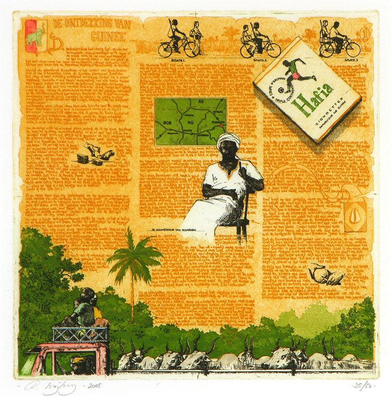 Ontdekking van Guinée I