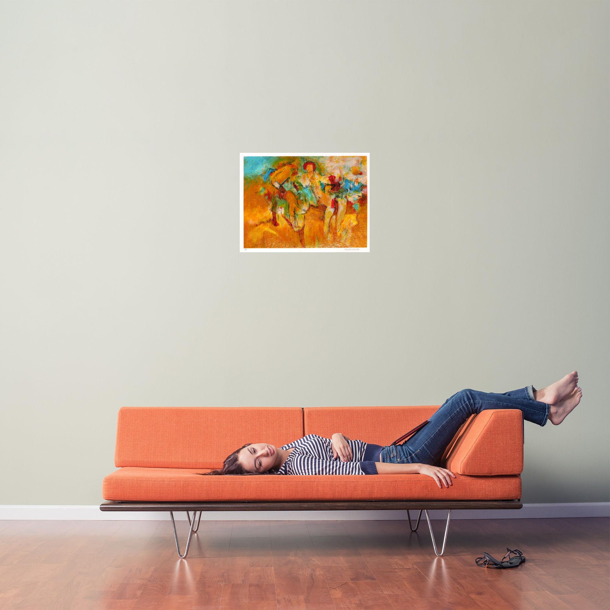 Laying Woman